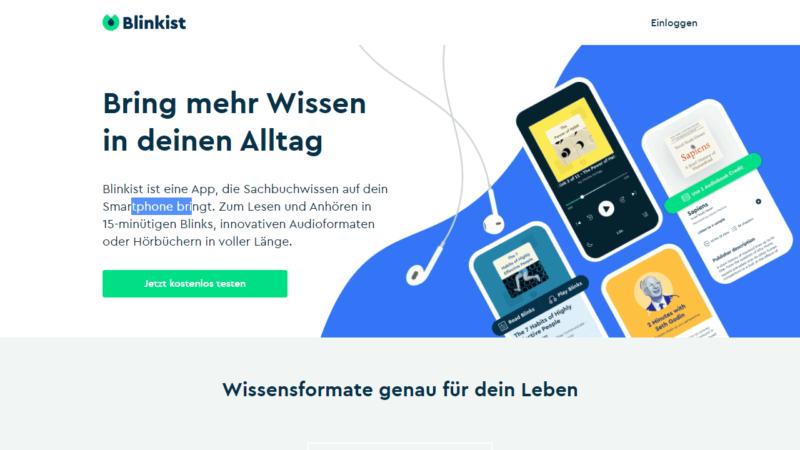 Blinkist: Online-Kurse am Smartphone