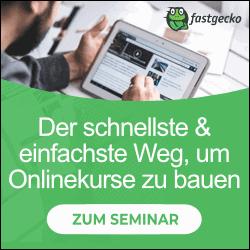 Online-Kurs erstellen Seminar