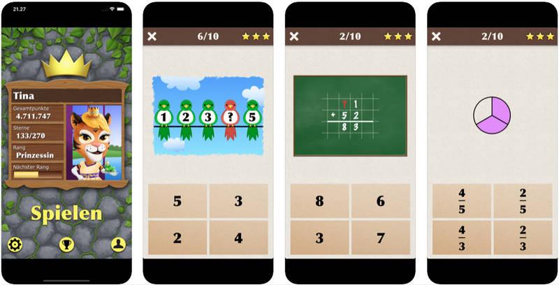 König der Mathematik Junior für iOS und Android
