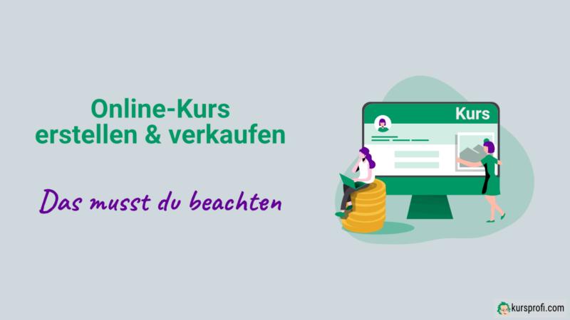 Online-Kurs erstellen und verkaufen