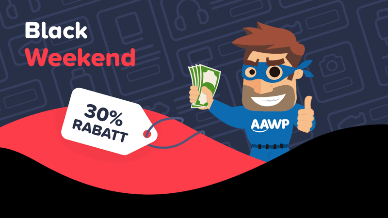 AAWP - Amazon Plugin Black Weekend