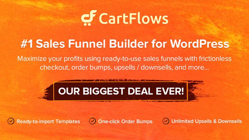 CartFlows Funnel Builder Deals
