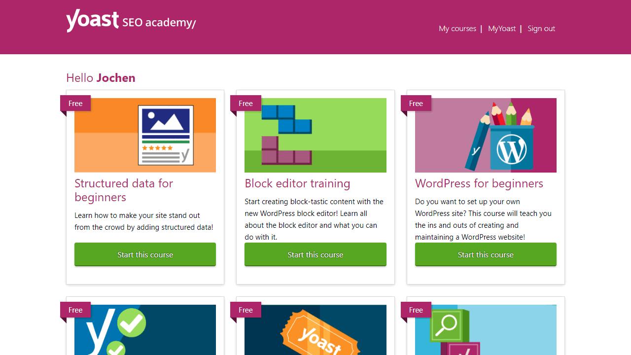 Yoast Academy nutzt LearnDash