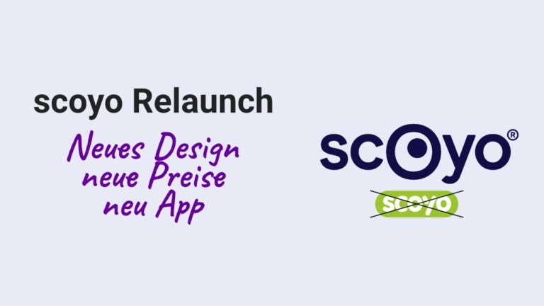 scoyo Relaunch: Neues Design, neue Preise und neue App