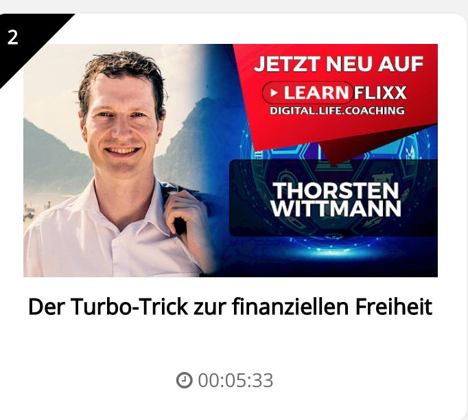 Turbo-Trick zur finanziellen Freiheit mit Torsten Wittmann
