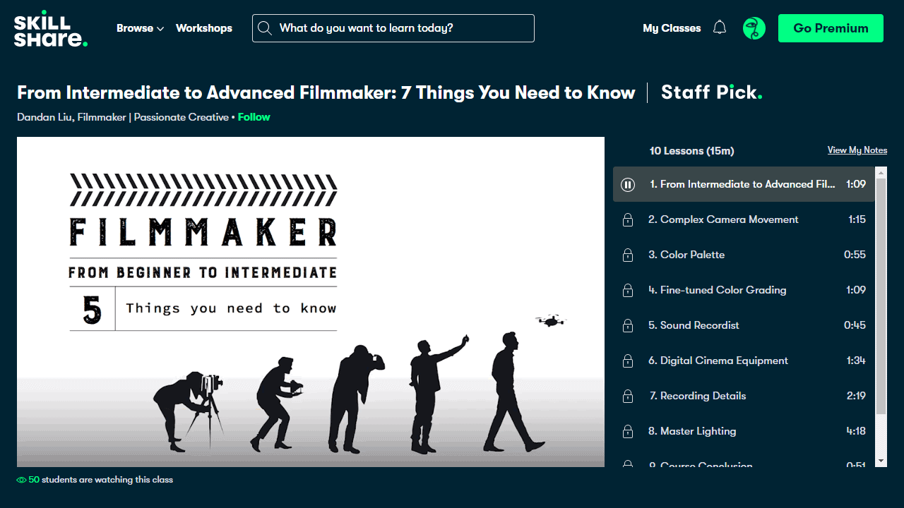 From Intermediate to Advanced Filmmaker: 7 Things You Need to Know