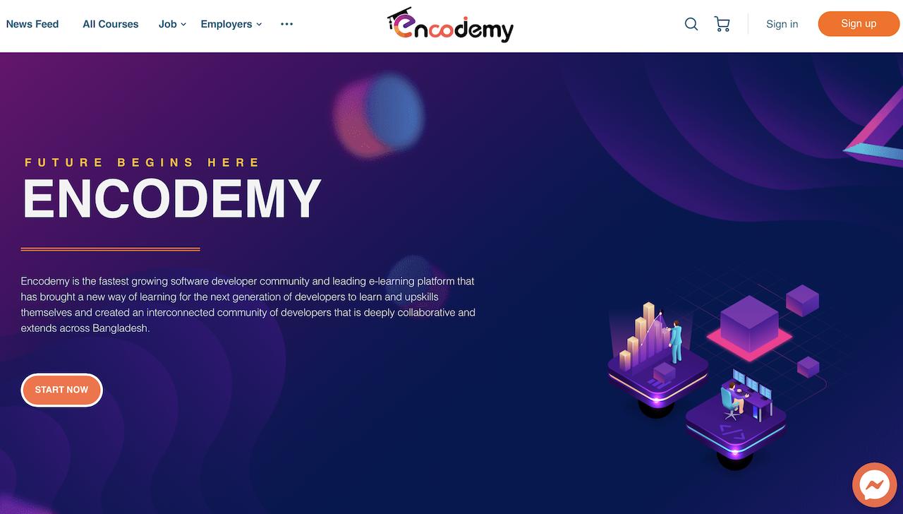 Encodemy Website