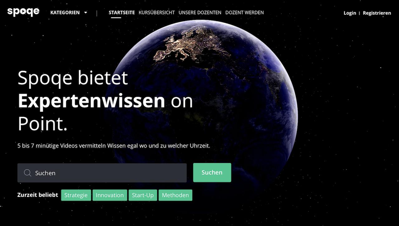 Spoqe Website